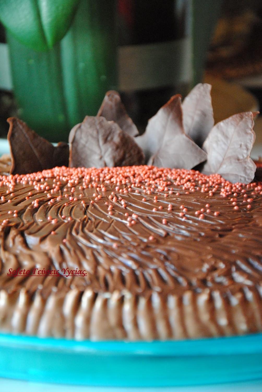 τούρτα με μους αμυγδάλου 5