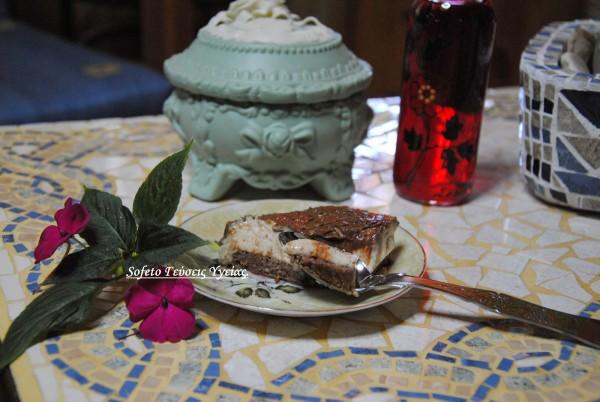 τούρτα με μους αμυγδάλου 6