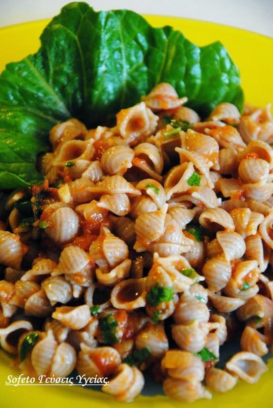 αχινόσαλτσα με ζυμαρικά ζέας 6