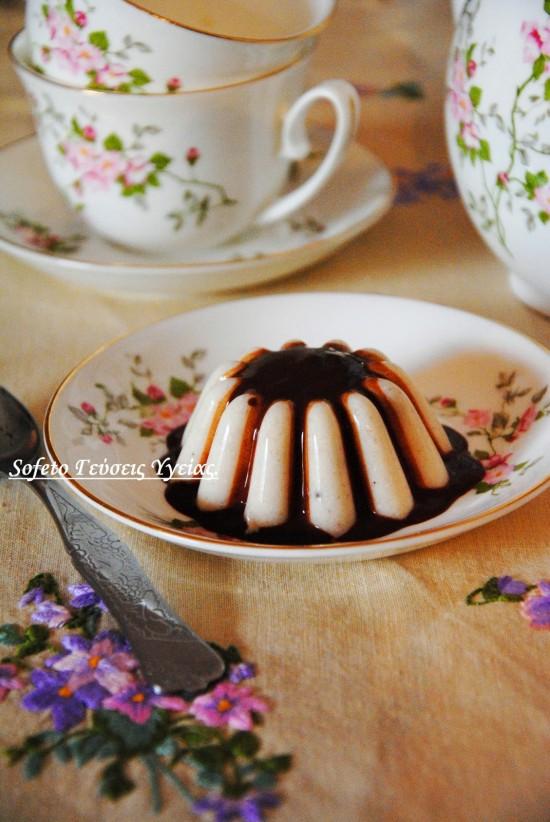 καιμάκι με σαλέπι και σοκολάτα