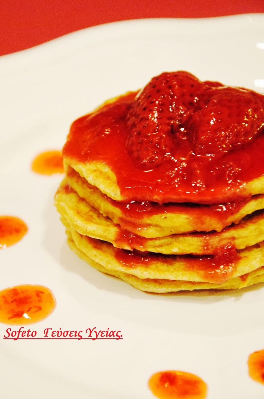 τηγανίτες με φραουλες 2