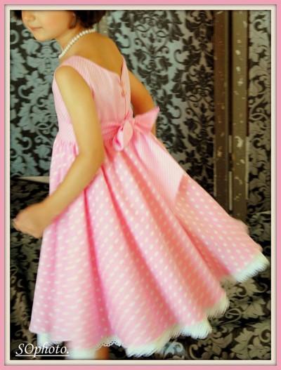 φόρεμα ροζ 2