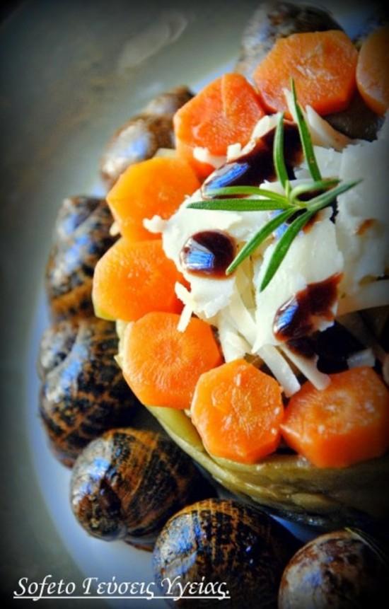 σαλάτα με σαλιγκάρια 2
